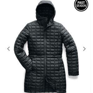 Brand New North Face Long Black Jacket
